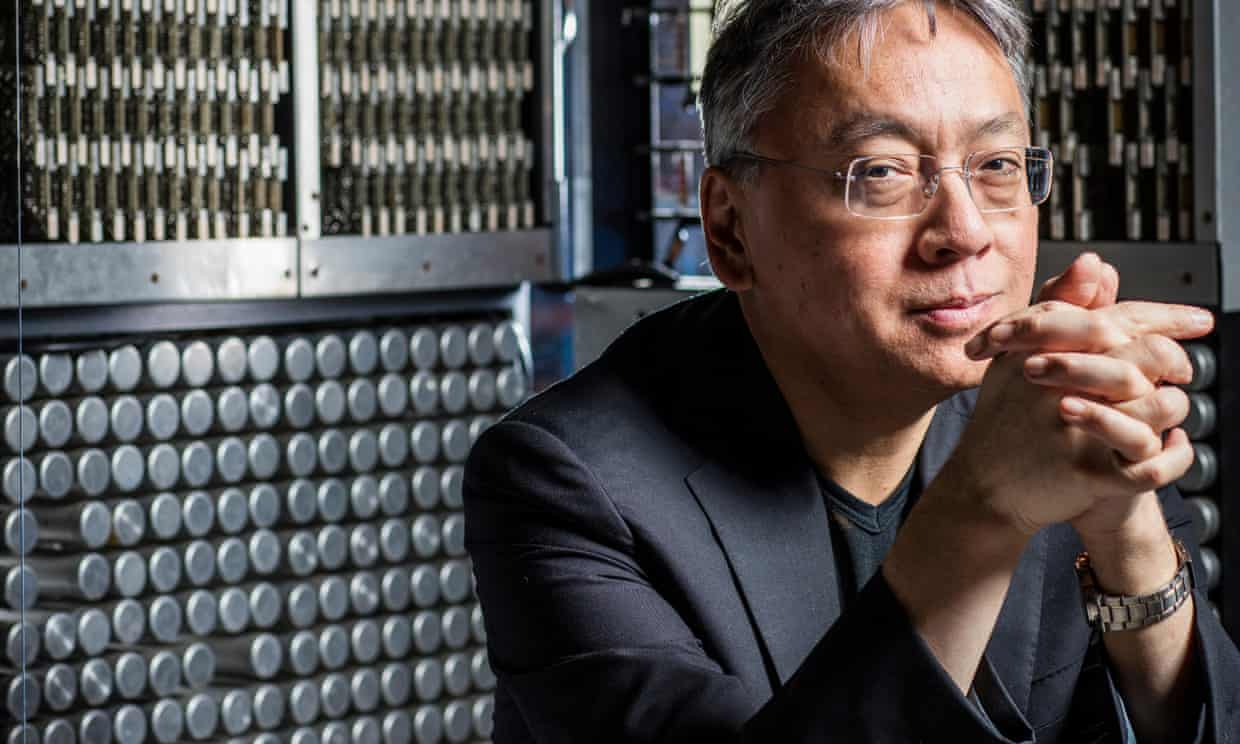Kazuo Ishiguro Wins The Nobel Prize In Literature 2017 by Hannah Ellis-Petersen and Alison Flood for The Guardian