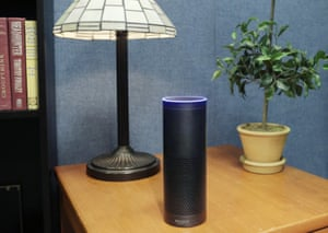 The Amazon Echo – the device that brings you the alluringly voiced Alexa.