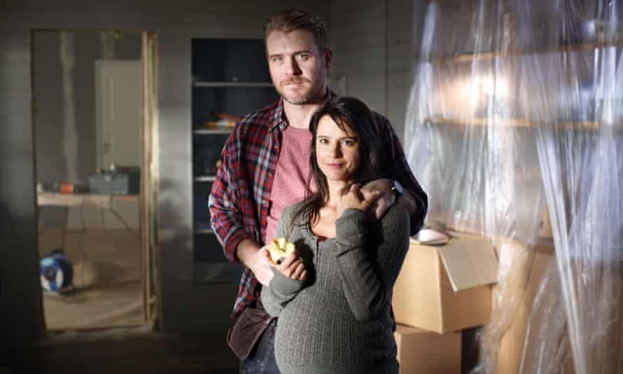On the case ... Melinda Kinnaman as Inger and Henrik Norlén as Ingvar in Modus.