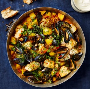 Simple Moroccan fish stew