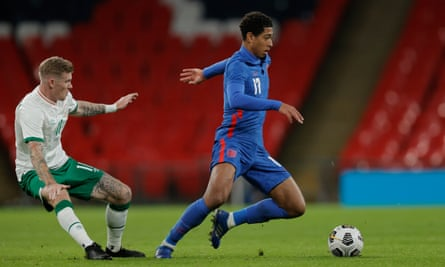 Jude Bellingham looked assured after becoming the third youngest player to turn out for England.