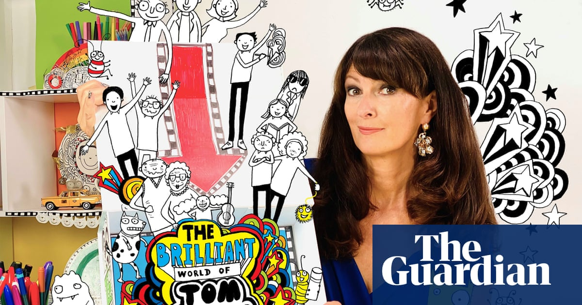 Liz Pichon: 'I thought the Tom Gates series would end really quickly'