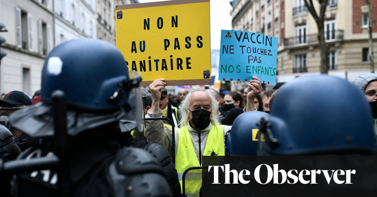 Macron tells critics: vaccine passport will protect all our freedoms