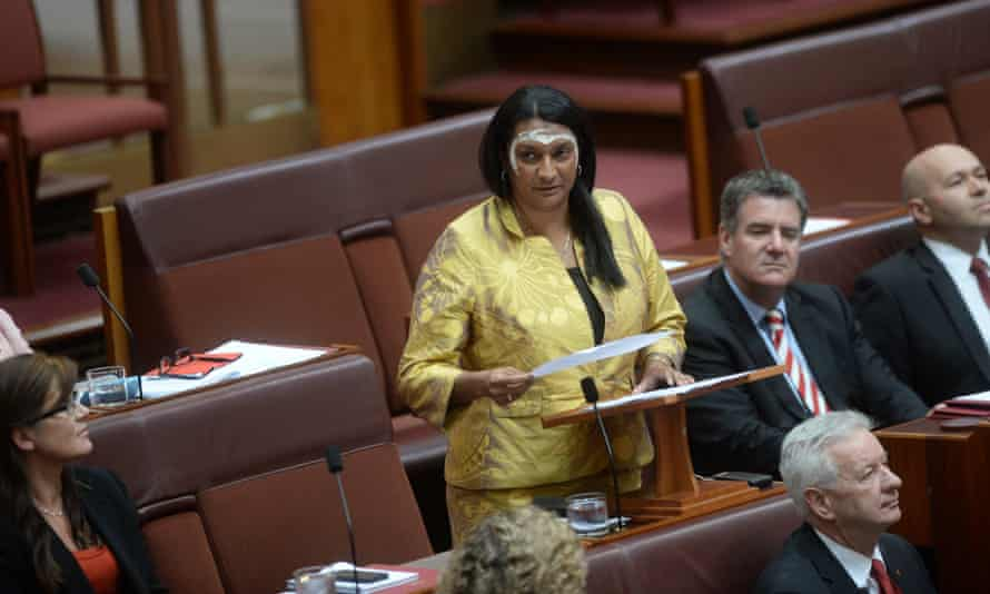 Senator Nova Peris delivers her maiden speech