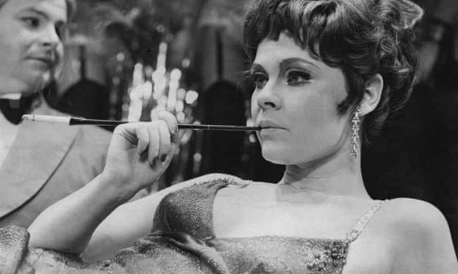 Judi Dench as Sally Bowles in Hal Prince's production of Cabaret at the Palace Theatre, London, 1968.