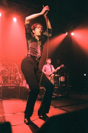 90s inspiration courtesy of Britpop star Jarvis Cocker, performing here in Shetland, 1996.