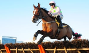 Faugheen pictured racing at Leopardstown's Christmas festival this winter.