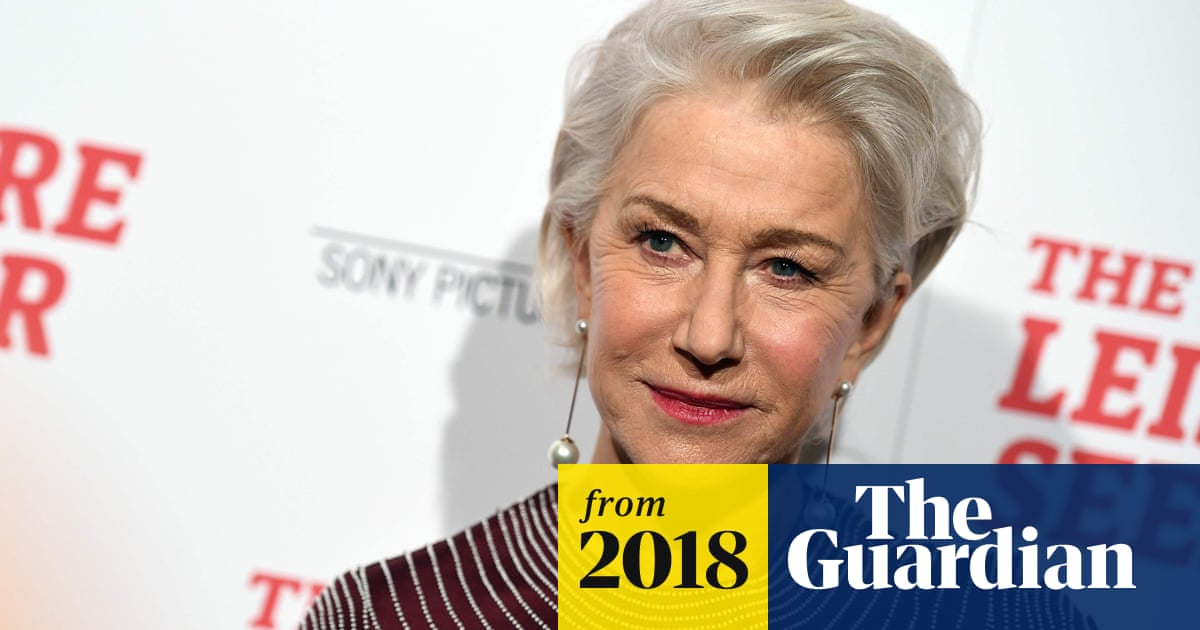 Helen Mirren to star as Catherine the Great in TV mini