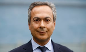 Everton's new majority shareholder, Farhad Moshiri, says: 'There has never been a more level playing field in the Premier League than now.'