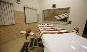South Dakota lethal injection chamber