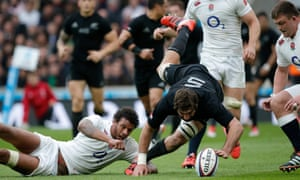 Courtney Lawes All Blacks Sam Whitelock Twickenham 2014 concussion