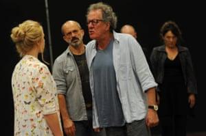 Geoffrey Rush in King Lear, 2015