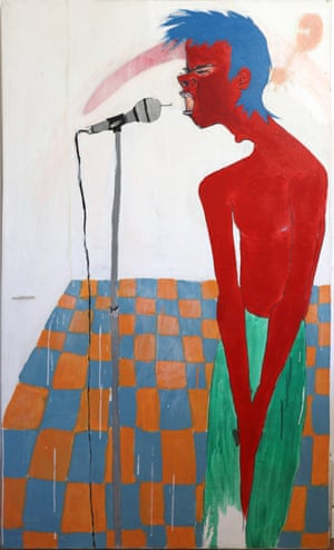 Painting entitled Horn of Plenty by Anita Lane, 1977 Acrylic paint on canvas Reproduced by kind permission of Anita Lane