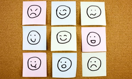 emotional post-it notes