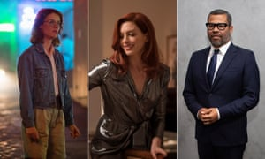 Mackenzie Davis in Black Mirror: San Junipero, Anne Hathaway in Modern Love and the Twilight Zone director Jordan Peele.