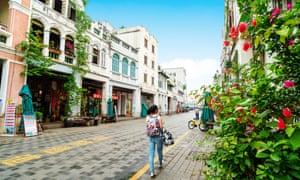 Haikou Old Town.