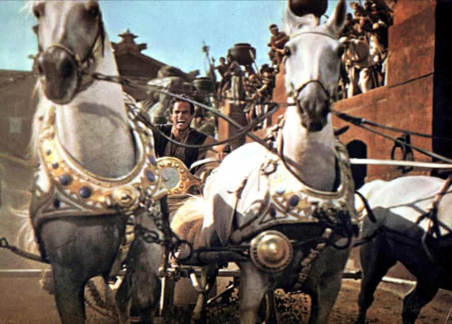 1959, BEN-HUR; BEN HURCHARLTON HESTON Character(s): Judah Ben-Hur Film 'BEN-HUR; BEN HUR' (1959) Directed By WILLIAM WYLER 18 November 1959 SAQ64720 Allstar/MGM