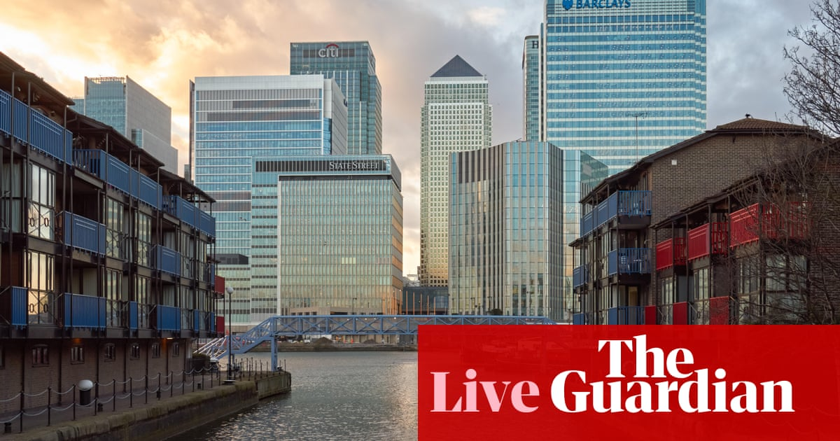 Pound hits 31-month high against the euro on Tory win predictions – business live | Business