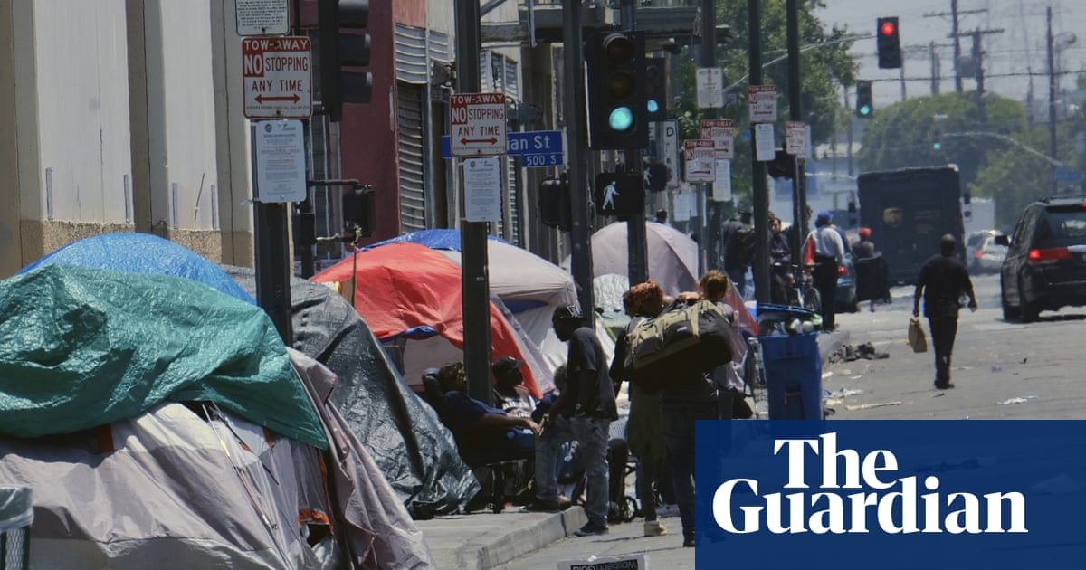 Los Angeles homeless population hits 36,000 in dramatic rise | US