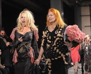 Pamela Anderson with 'kindred spirit' Vivienne Westwood