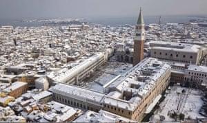 St Mark's Square in Venice, Italy