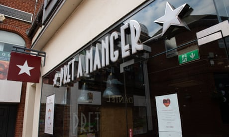 Pret a Manger: full list of stores to close