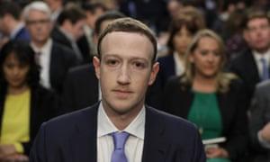 Facebook's CEO, Mark Zuckerberg