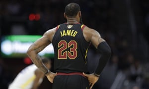 LeBron James bids farewell to the Cavaliers after taking them to the NBA title in 2016