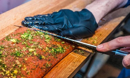 Marijuana salmon