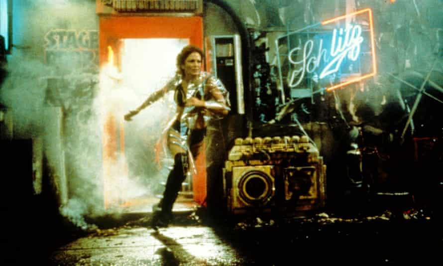 A pioneer of cyberpunk ... Blade Runner.