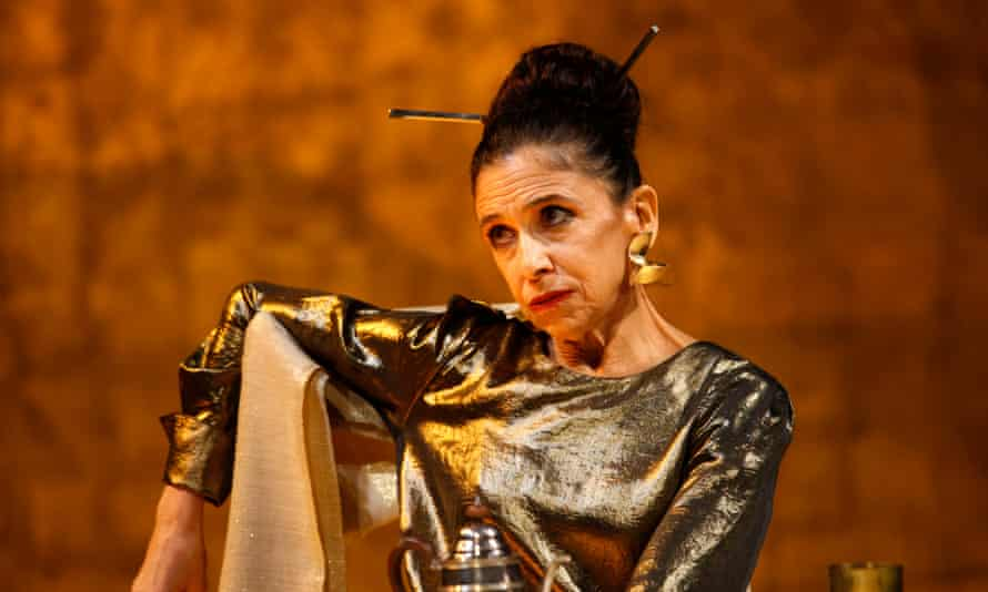 Kathryn Hunter in the RSC's current production of Timon of Athens in Stratford.