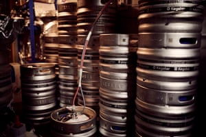 'We've got twelve kegs going off to trade and then, that's it, you'll never see it again. The fun things about the specials is that we do them once and if you get it you get it and if you don't, you miss out. It's just a bit of fun which enables us to be a bit creative'