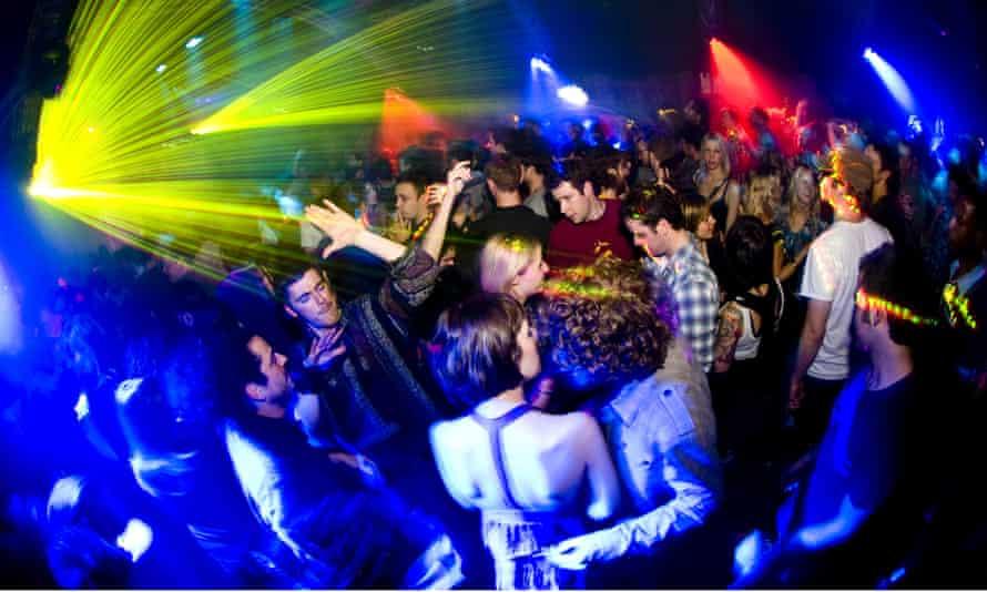 People in a night club