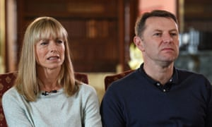 Kate and Gerry McCann were two of four individuals who brought the legal challenge.