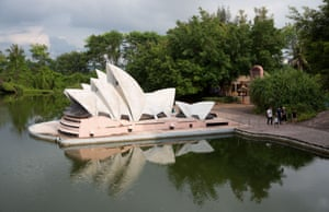 The Sydney Opera House, not quite to scale
