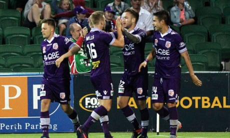 Attacking trio lead Perth Glory to first A-League win in seven games