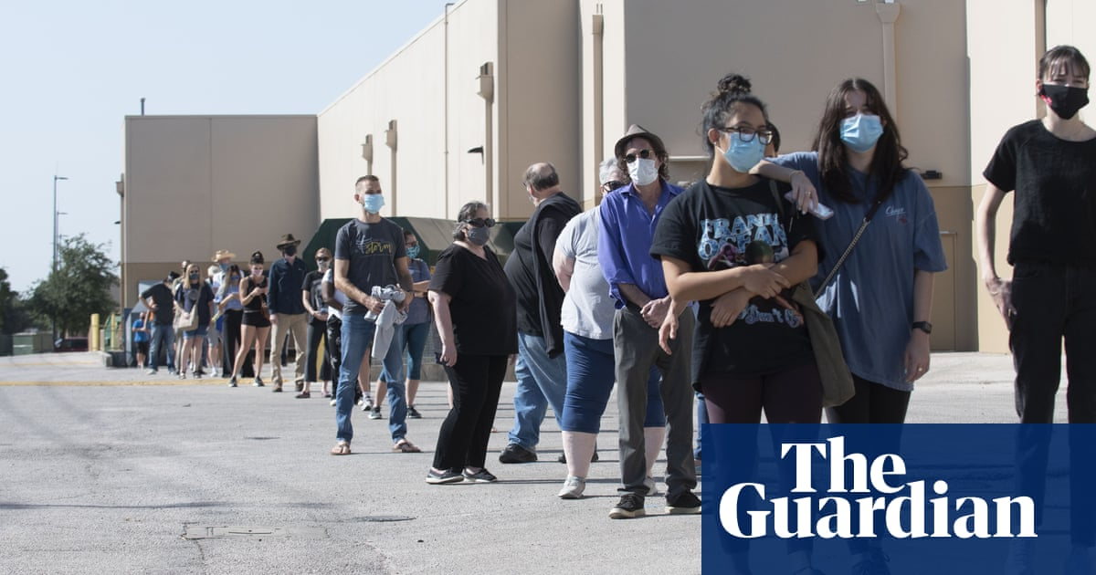 Millions of Americans voting early in what could be record election turnout – The Guardian