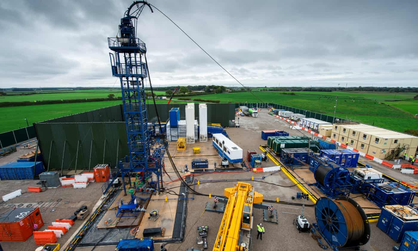 Cuadrilla halts fracking after biggest tremor yet at Lancashire site