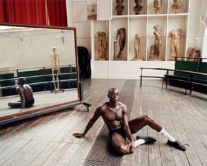 The Life Room at the Royal Academy of Art, London, by Jooney Woodward 'Joe is a pharmacist who agreed to let metake his portrait,' says Woodward. 'Here he is in the life room at the Royal Academy, which is steeped in history and tradition.'