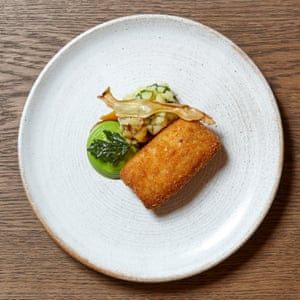 'The Bull & Bear's kiev is polite, perfectly rolled and comes on a tablespoon of crushed wild garlic potatoes.'