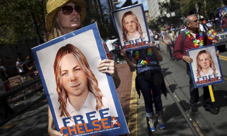 Chelsea Manning, who leaked a vast trove of US state secrets to WikiLeaks, was granted commutation.