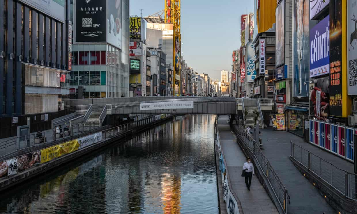 Spending more time with family as a result of the coronavirus pandemic may be one reason the monthly suicide rate has dropped in Japan. Photograph: Carl Court/Getty Images