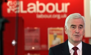 John McDonnell being interviewed this morning.