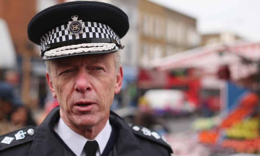 Metropolitan police commissioner Sir Bernard Hogan-Howe, whose successor is expected to be announced in February.