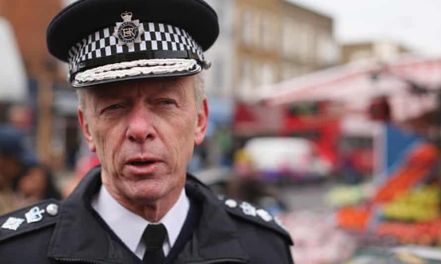 Hogan-Howe, now Britain's most senior policeman