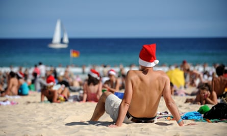 Heatwave: Christmas weather forecast is for high temperatures across southern Australia.