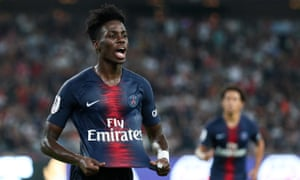 Timothy Weah's most recent appearance for PSG was in August.