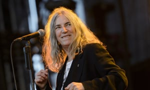 Patti Smith performing in 2015.