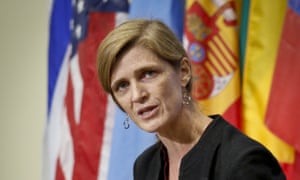 United States UN ambassador Samantha Power: 'Russia really needs to stop the cheap point scoring.'