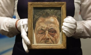 Lucian Freud's 1978 Self-Portrait With a Black Eye, one of 60 Freud self-portraits to be shown at the Royal Academy later this month.